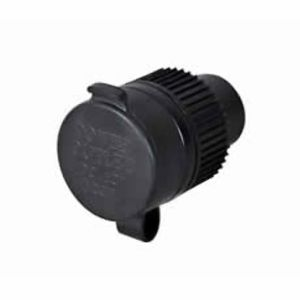 Power Socket with Cover - 10A max