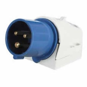 16A Surface-Mounted Plug for Outdoor Use - 230V