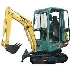Yanmar B17 Mini Excavator Parts