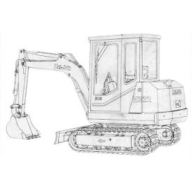 Pel Job Mini Excavator Parts