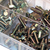 Assorted Setscrews & Fasteners