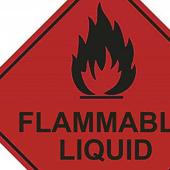 Hazard Warning Diamond Labels