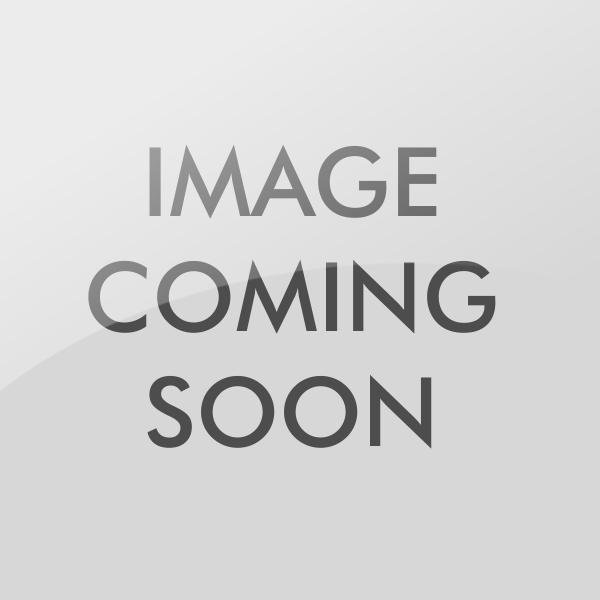 32mm Tri-Circle Padlock with Elongated Chrome Shackle, Brass Finish