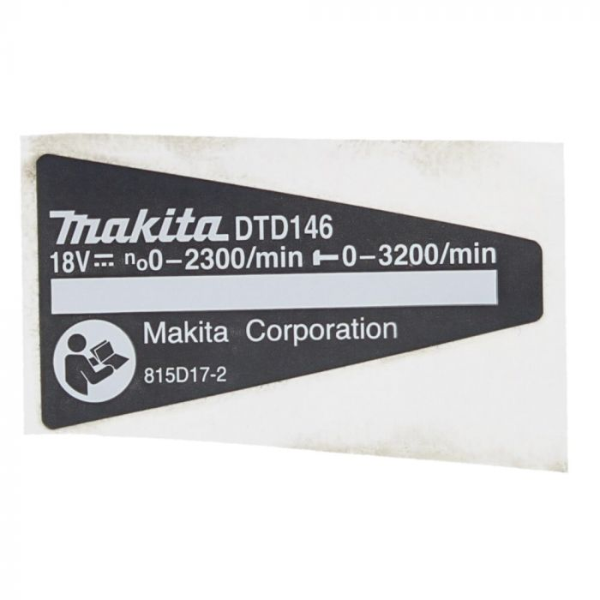 Part No 424429-0 Bumper fits Makita BTD134 BTD146 Cordless Impact Driver
